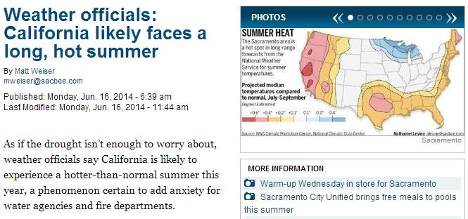 california likely faces a long hot summer