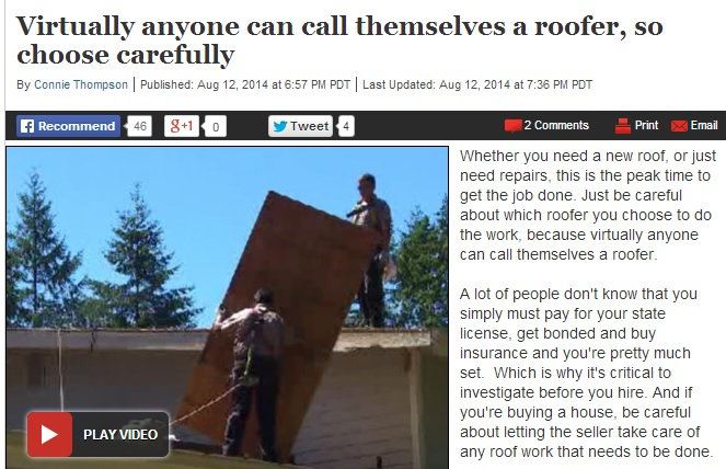 Choose Roofer